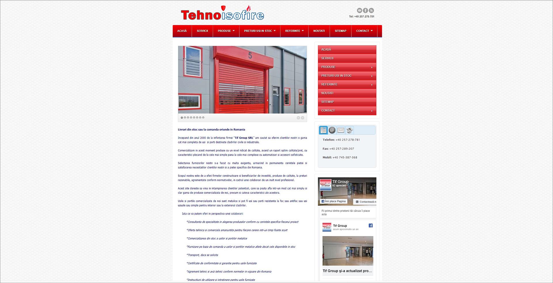 tehnoisofire.com